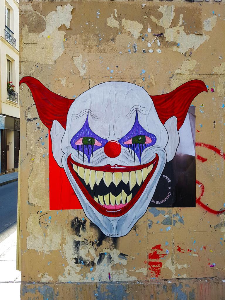 Le Joker dans le Marais