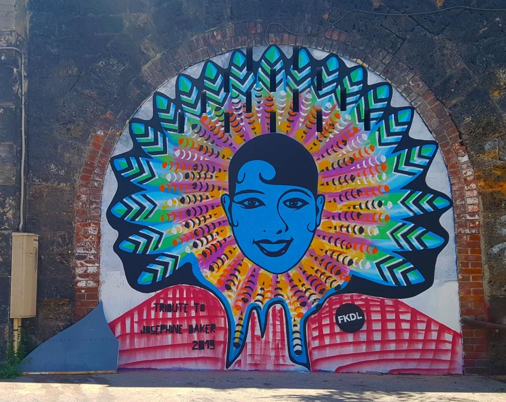 FKDL aka Franck Duval est un street artiste français  (né à Paris en 1963), spécialisé dans les collages.