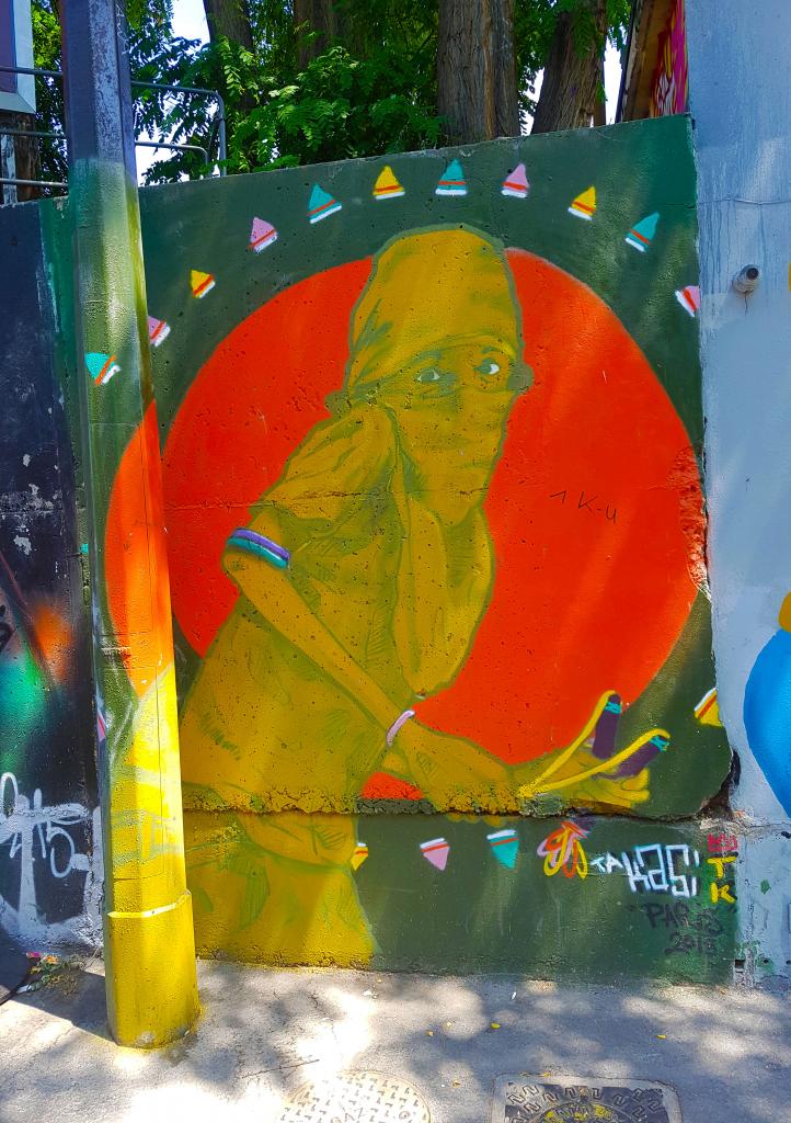 Street art et art urbain Paris