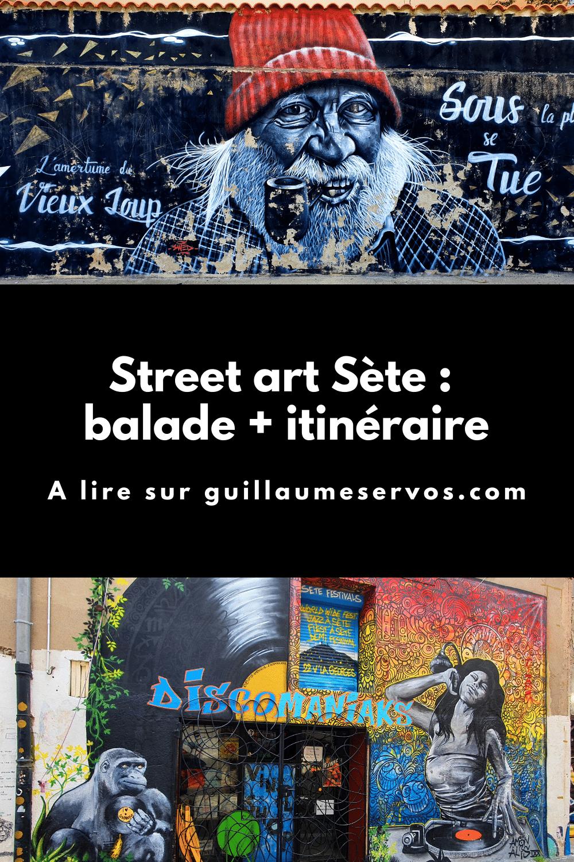 Découvre ma balade street art à Sète dans l'Hérault avec son itinéraire détaillé. Au menu : C 215, Stew, M Chat, Jan Kalab, Klaus Daven, Kashink…