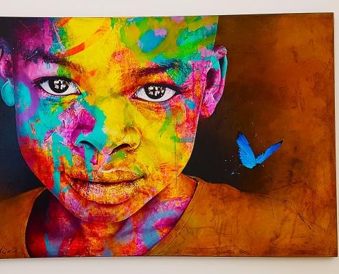 "Balade street art à l'exposition Strokar ""40 street artistes, 1 photographe"" à l'espace H2M à Bourg-en-Bresse"
