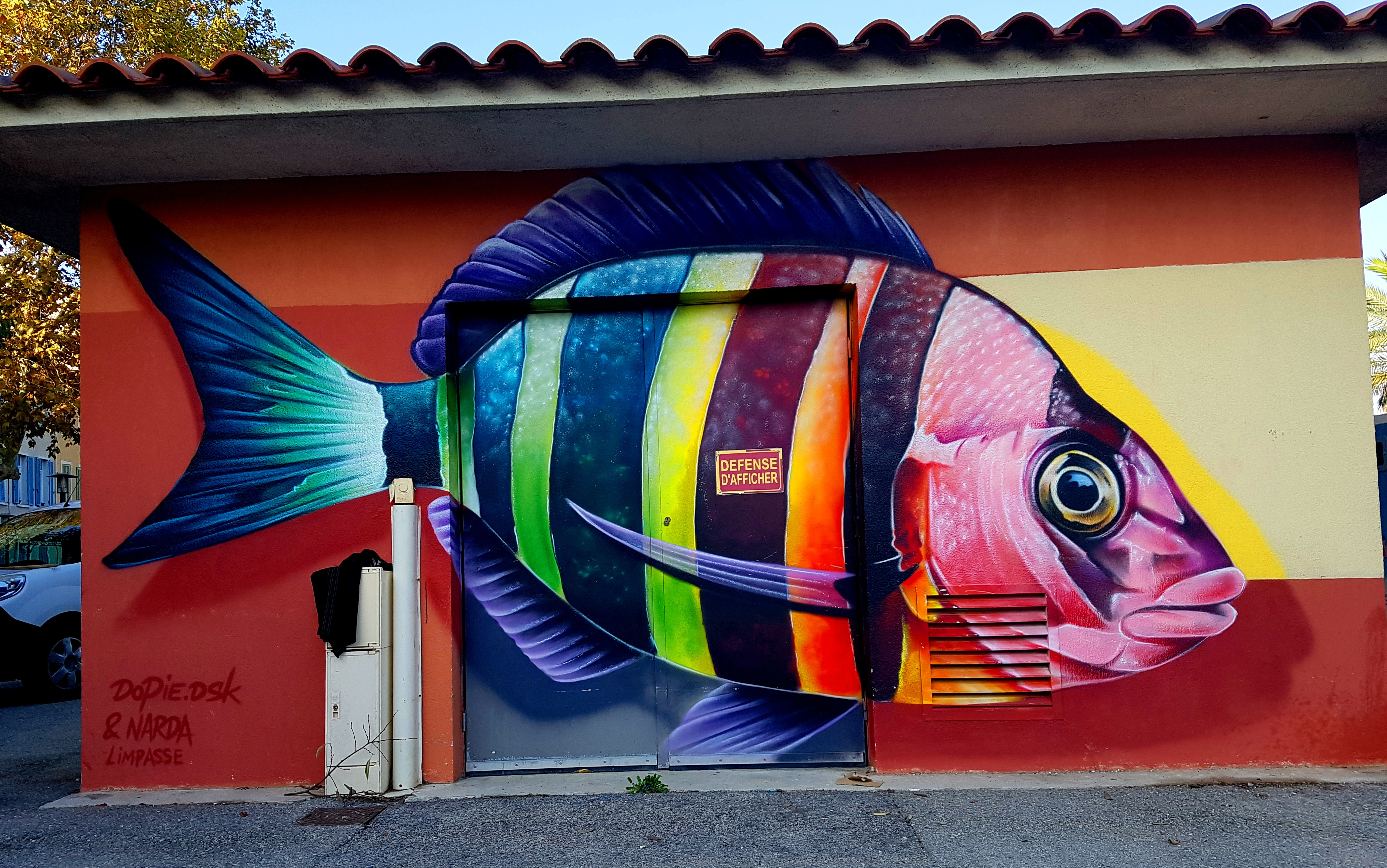 Street art Toulon et La Seyne-sur-Mer