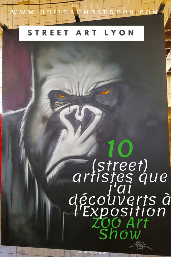 Découvre l'exposition street art ZOO Art Show à Lyon