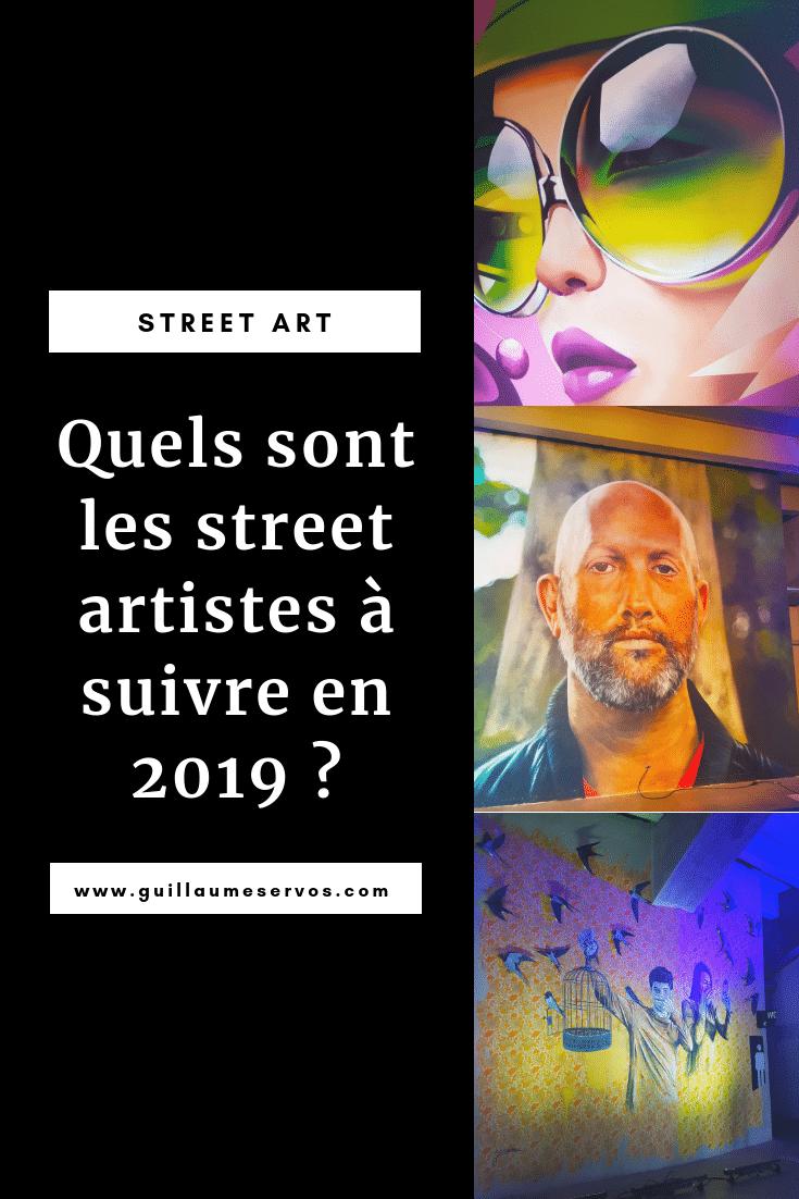 Tu aimes le street art et tu veux découvrirles street artistes les plus prometteurs en 2019. Au menu : Tavin Davis, Zurik, Shaka, Mantra