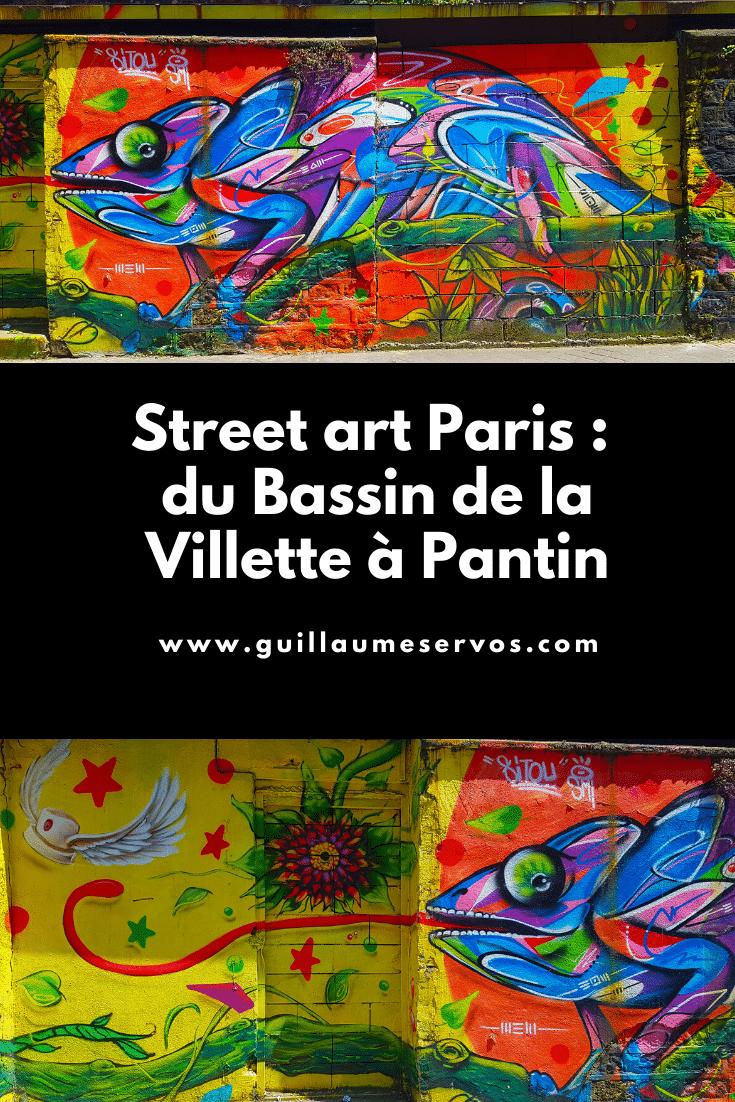 Tu es à Paris ? Tu aimes le street art ? Découvre ma balade du Bassin de la Villette à Pantin avec son itinéraire détaillé en bonus.
