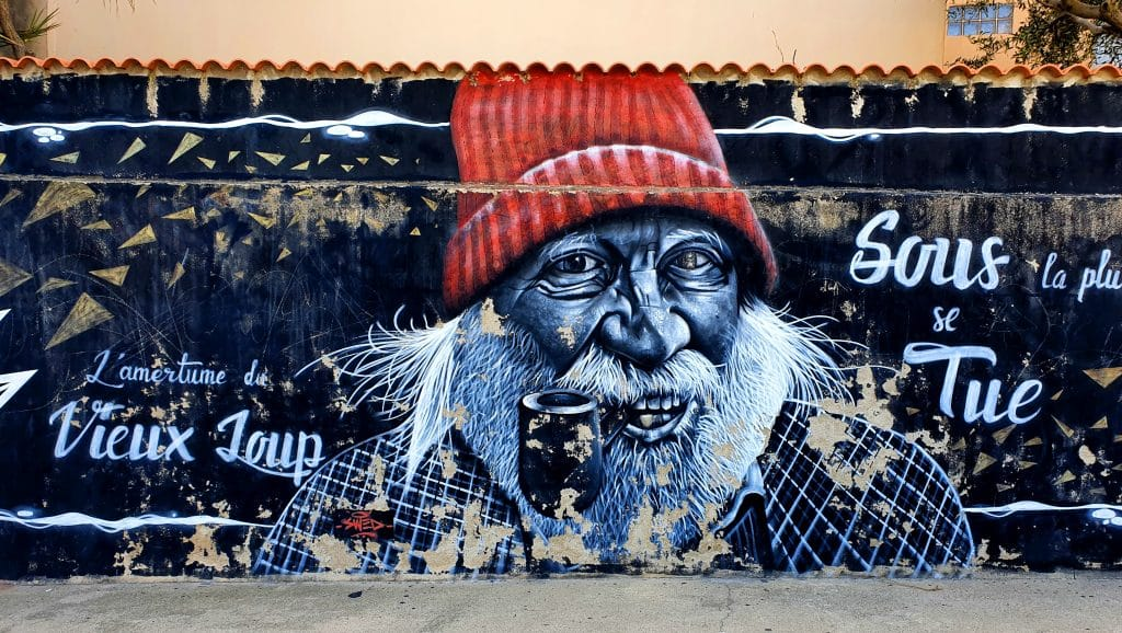 La collaboration street art de Swed Oner et Vizer à Sète (France)