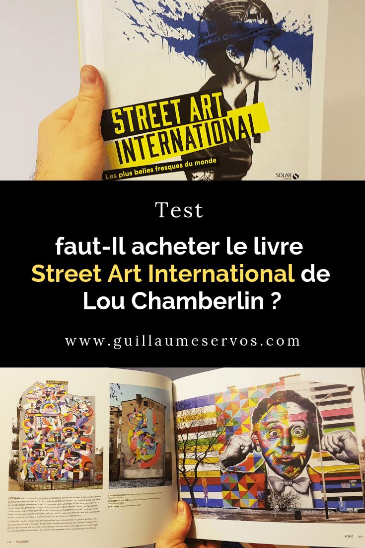 Découvrez mon test complet du livre de Lou Chamberlin sur les belles fresques de street art dans le monde. Je vous explique ce que vous trouverez dans Street Art International, les points forts, les points faibles et mon verdict.