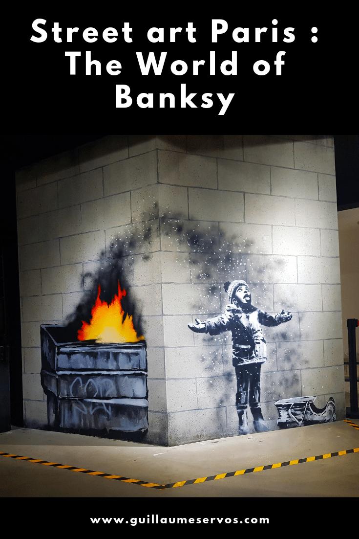Tu aimes le street art ? Tu es fasciné par Banksy ? Découvre le meilleur de The World of Banksy, l'exposition incontournable à voir à Paris.