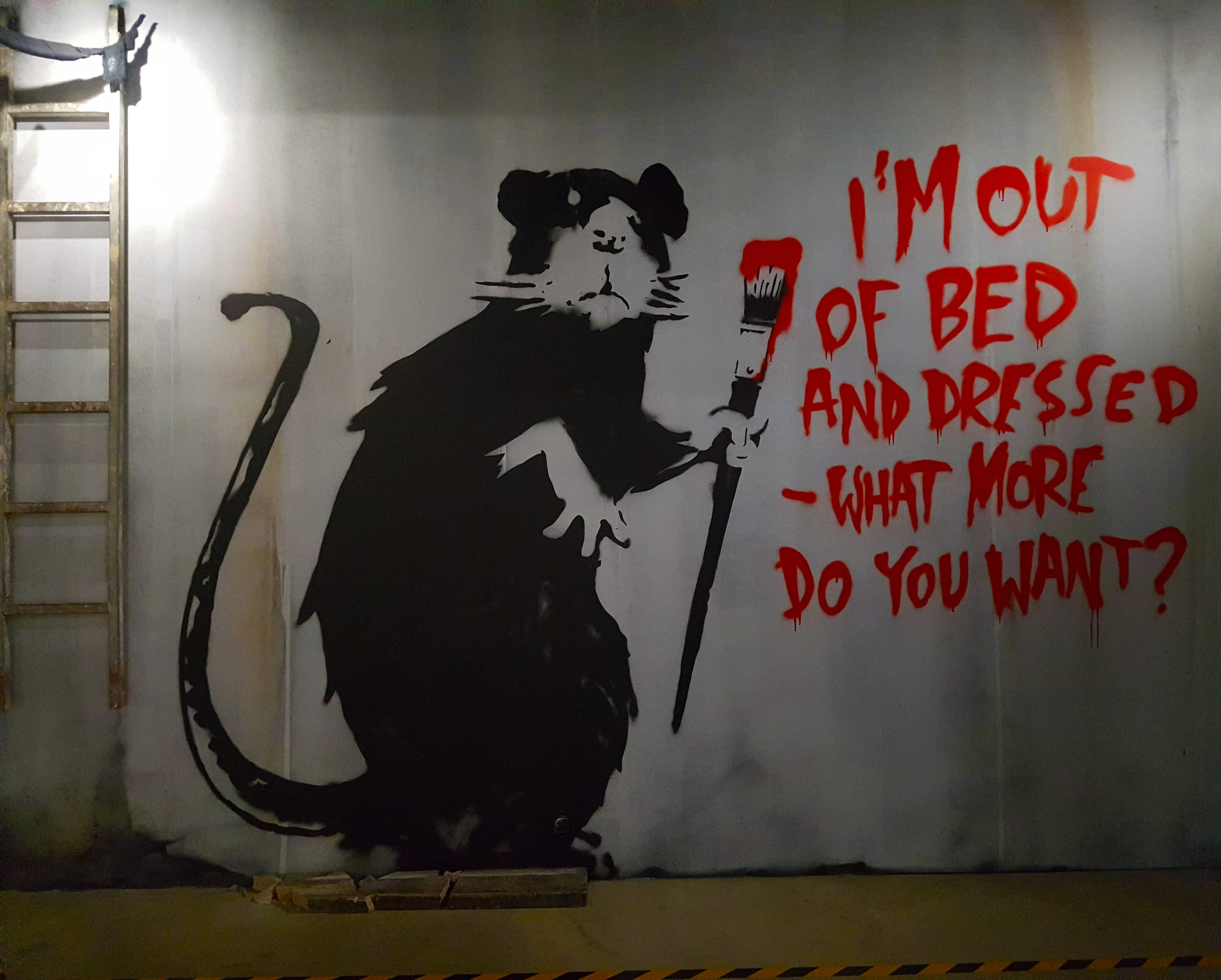 Street art Paris : The World of Banksy