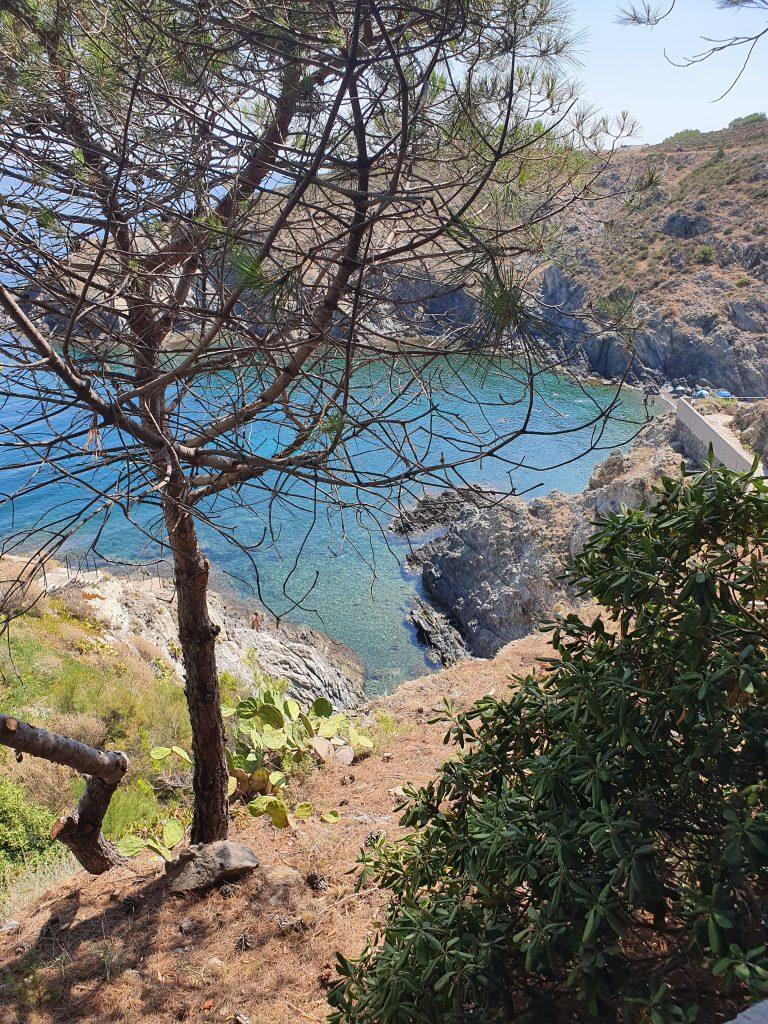 La plage du Troc à Banyuls (Collioure, France)