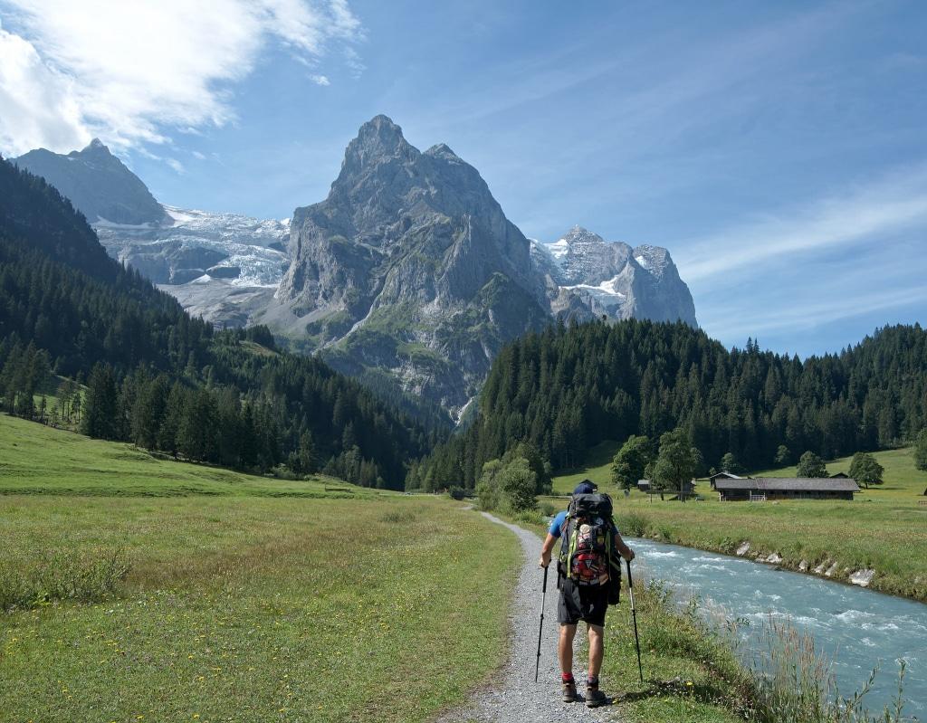 Benoit sur la Via Alpina, blog voyage Novo-Monde
