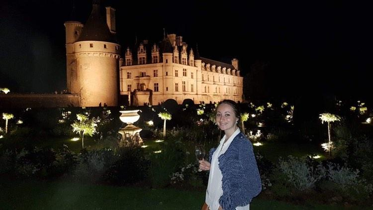 Adèle Deforge-Lenoir au château de Villandry