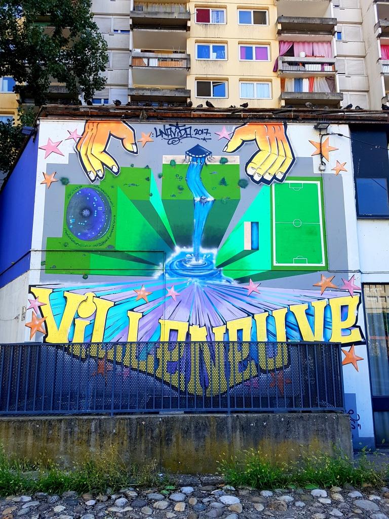 L'art urbain à Villeneuve.