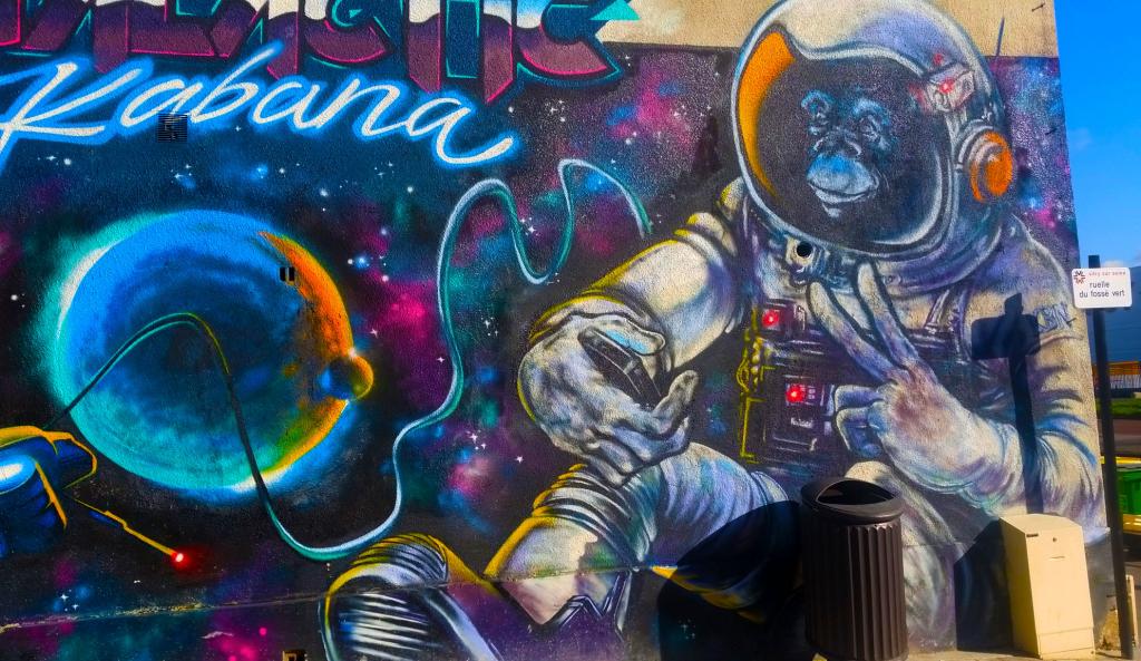 La scène street art de Vitry sur Seine en France