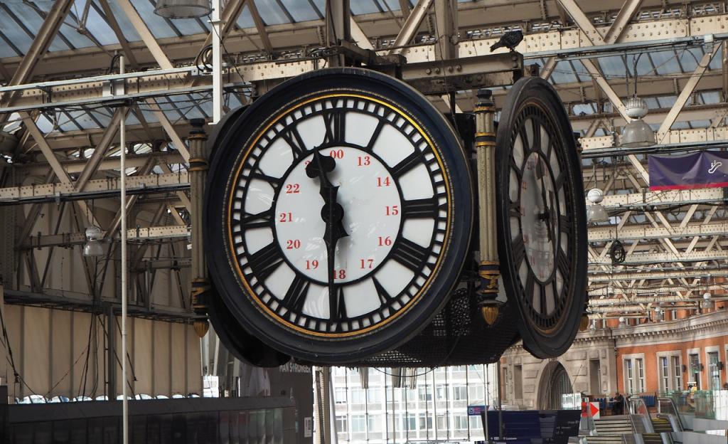 La célèbre horloge de Waterloo Station dans les anecdotes insolites sur Londres