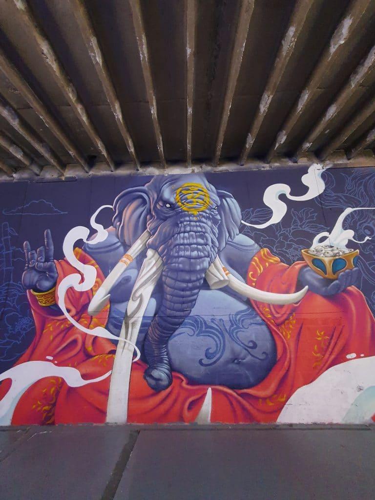 Kalouf, street art Lyon