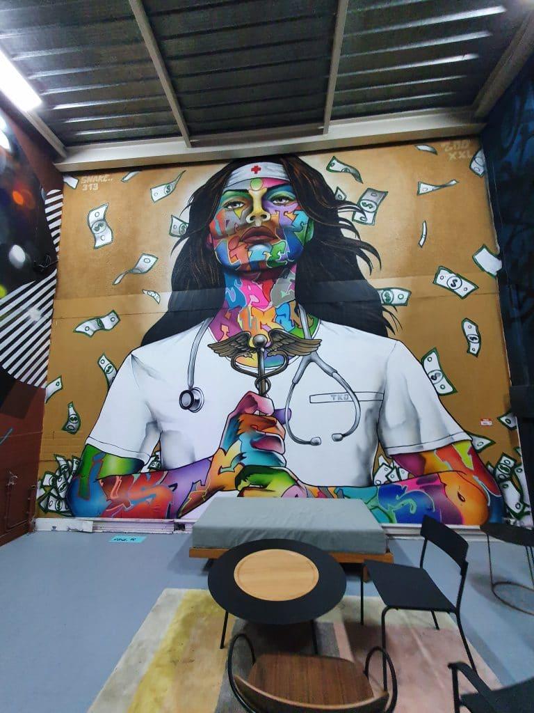 Les portraits du Zoo Art Show, street art Lyon