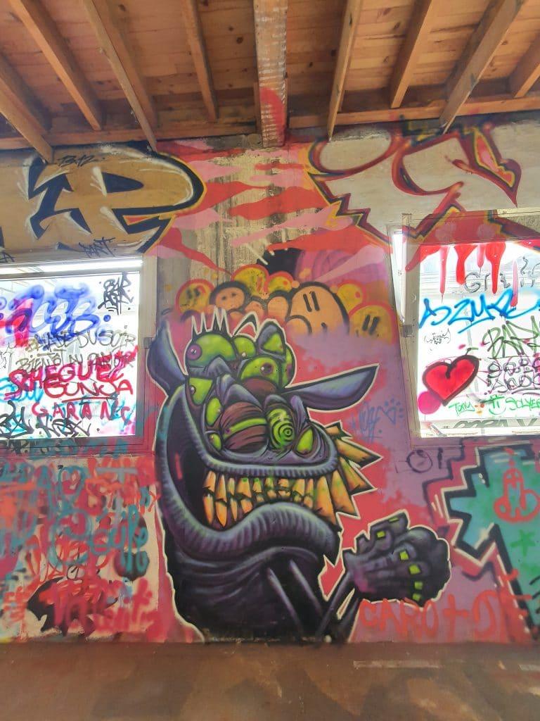 Ambiance Urbex et graffiti