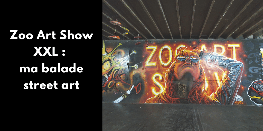 Tu aimes le street art ? Tu es de Lyon ? Au programme, la 3ème édition de Zoo Art Show XXL avec Seth, Kalouf, Marko 93, Snake, Aero...